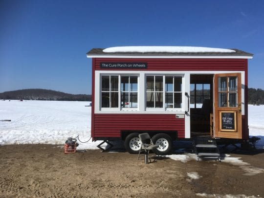 cure porch on wheels