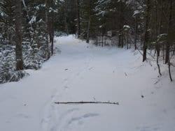 snowmobile connector trail