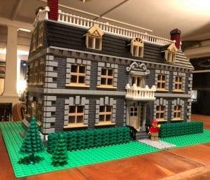 lego model of hancock house museum