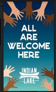 indian lake banner