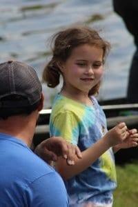 6-9 1st place winner of kids long lake fishing derby