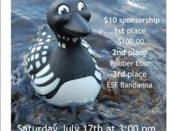 2021 rubber loon race poster