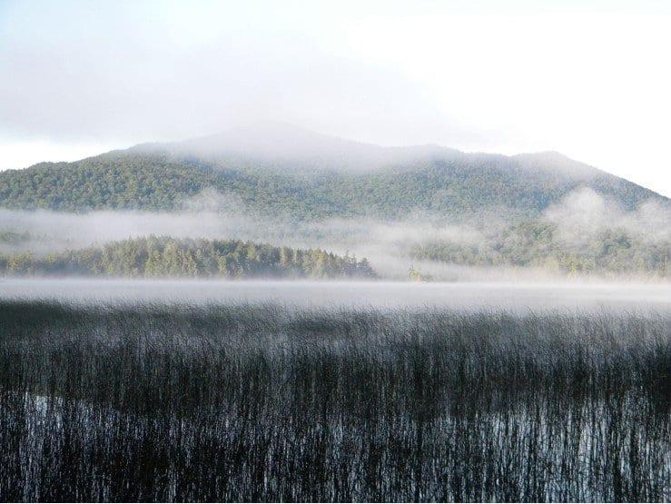 camping at middle saranac lake