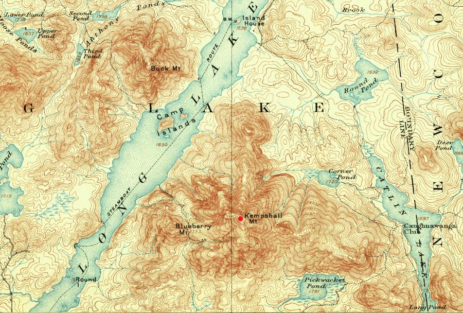 long lake map
