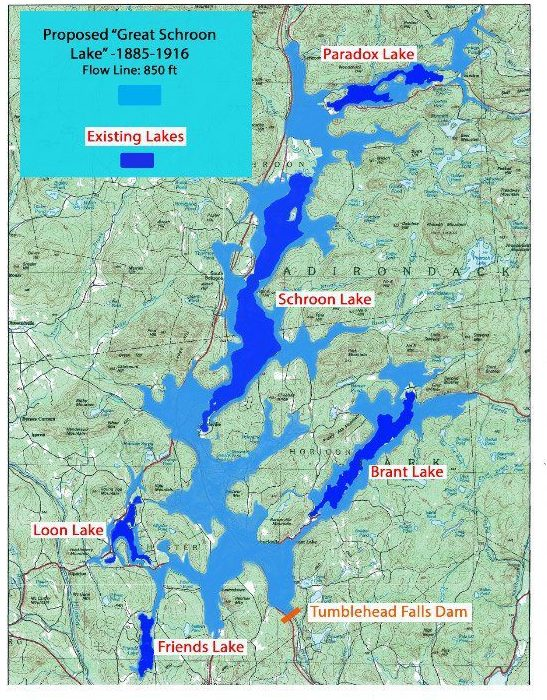 proposed lakes