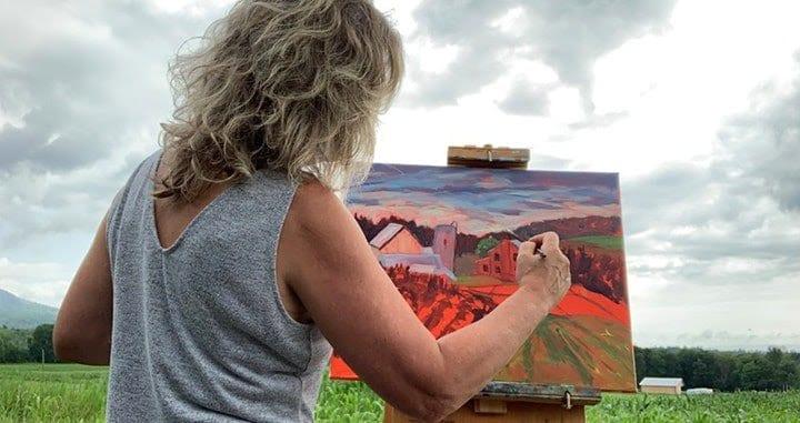 plein air artist