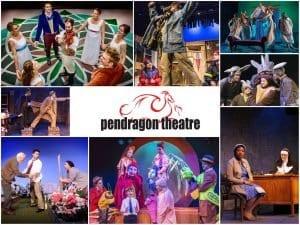 pendragon theatre collage of performances
