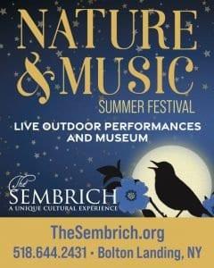 2021 Sembrich Nature & Music Season Graphic