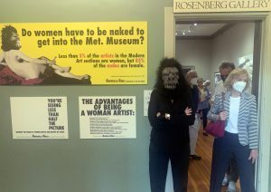 a womans view art show at the adk history museum