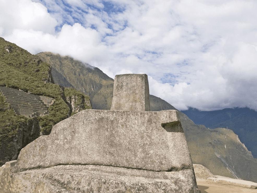 The Intihuatana Stone in Machu Picchu Peru Photo Credit – Mark Bender – Myshot – National Geographic Society